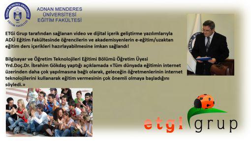 ADÜ Eğitim Fakültesi Video ve Dijital İçerik Geliştirm