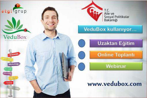 Aile Bakanlığı VeduBox Kullanıyor!