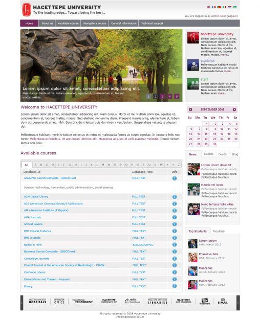 Hacettepe Üniversitesi e-Öğrenme Platformu Kuruldu