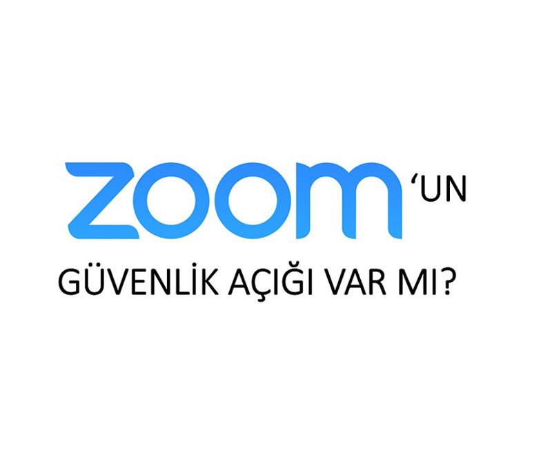 Zoom'un Güvenlik Açığı Var mı?